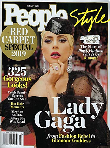 People Style Magazine February 2019 Red Carpet Special Lady Gaga (People Watch Style)
