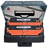 Triple Best Set of 2 Compatible Black Toner for Dell B1260 B1265 B1265dfw B1260dn B1260dnf B1265dnf DRYXV (2,500 Page Yield)