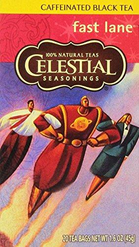 Celestial Seasonings Black Tea 20ea Pack of 6