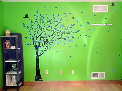 Pop Decors PT-0049 Gone with The Wind Tree Wall Decals for Nursery Room