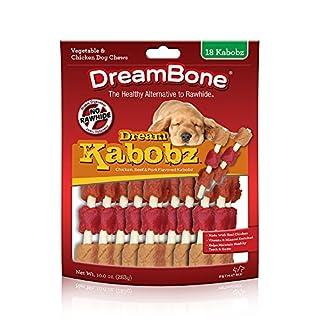 DreamBone Dream Kabobz 18 Count, Rawhide-Free Chews For Dogs, DBK-02519