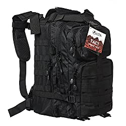 Military Tactical Large Army 3 Day Assault Pack MOLLE Outdoor Bug Out Bag Backpacks for Hiking Camping Hunting Trekking