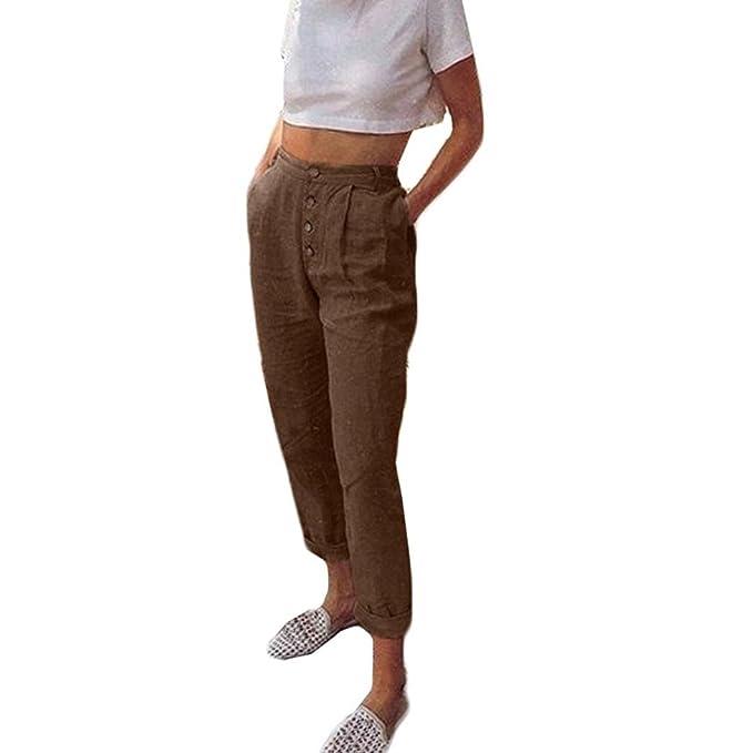 guter Service Genieße den niedrigsten Preis schnell verkaufend ASHOP Hosen Damen,Frauen Stylische High Waist Bequeme ...
