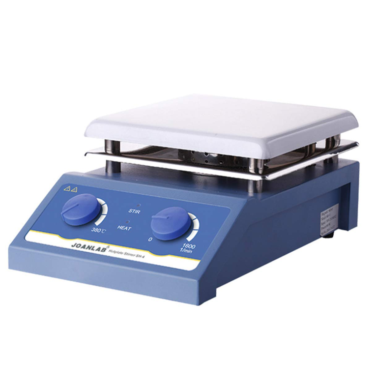DreamLab 1-5L Magnetic Stirrer 180-600W Heating Magnetic Mixer Max Stirring 1600rpm Hot Plate with Stir Bar HS-12/17/19 (5L)