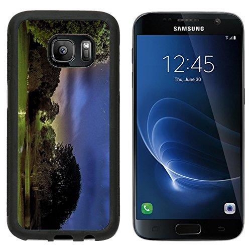 - MSD Premium Samsung Galaxy S7 Aluminum Backplate Bumper Snap Case Stars above Queen s Park Pond Brighton Image 4076520831