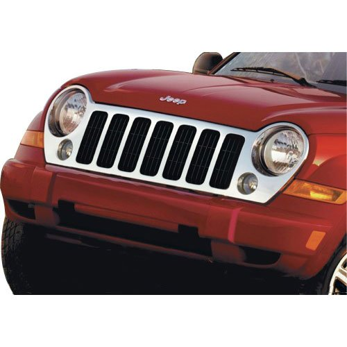 2005-2007 Jeep Liberty Sport & Limited Chrome Grille Front-End GENUINE MOPAR OEM - Jeep Liberty Chrome Grill