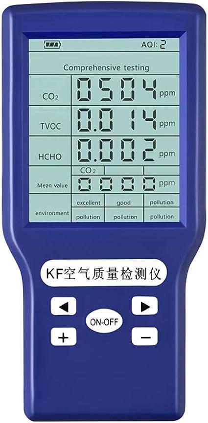 GCDN Detector de dióxido de Carbono, Detector de Calidad del Aire ...