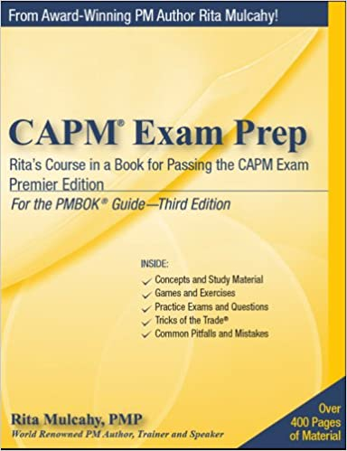 Capm Exam Prep Book