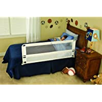 Regalo Hide Away 54-Inch Extra Long Safety Bed Rail Features Rail that Slides Under Mattress