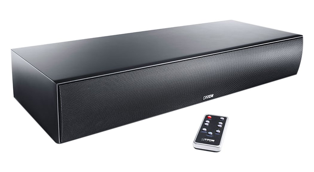 Canton DM 90.3 - Barra de Sonido (alámbrico, Dolby Digital, DTS Digital Surround, 50/60 Hz, HDMI), Color Negro