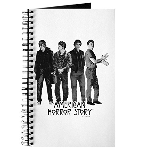 CafePress - American Horror Story Evan Peters - Spiral Bound Journal Notebook, Personal Diary, Lined ()