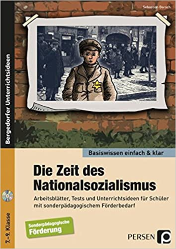 Die Zeit des Nationalsozialismus - einfach & klar: Arbeitsblätter ...