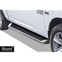 "6"" iBoard Running Boards Fit 09-17 Dodge Ram 1500/2500/3500 Crew Cab Nerf Bar Side Steps Tube Rail Bars Step Board"