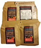 4 Bags Trader Joes Pour Over Brazil Coffee Brewer