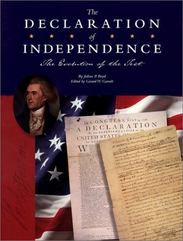 The Declaration of Independence: The Evolution of a Text cover