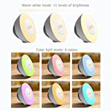 Wake Up Light, Vansky Updated Edition Sunrise Alarm Clock Night Light Bedside Lamp with Nature Sounds, FM Radio - Touch Control