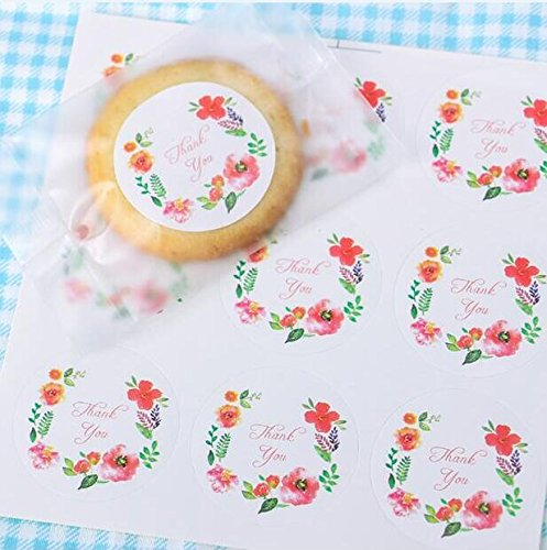 Efivs Arts Floral Watercolor Stickers product image