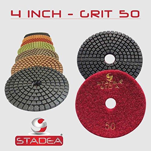 Stadea DPPW04STDA050G10 Concrete Diamond Polishing Pads G...