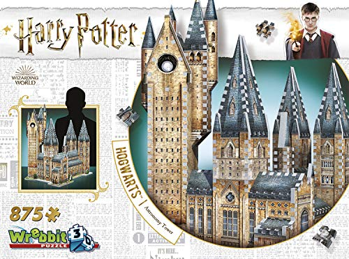 (Hogwarts Astronomy Tower 3D Jigsaw Puzzle (875 pieces))