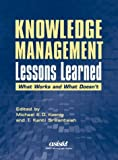 Knowledge Management Lessons Learned, , 1573871818