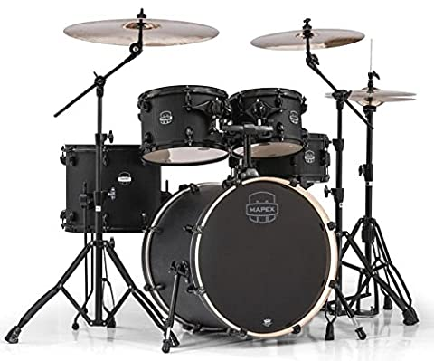 Mapex Mars Series 5-Piece Jazz/Rock Shell Pack Nightwood (Mapex Saturn 7 Piece)