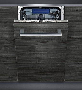 Siemens SR636X01ME Stainless Steel Einbau Geschirrspüler, Vollintegrierbar, 45  Cm, A+, 10 Maßgedecke: Amazon.co.uk: Large Appliances