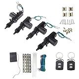 MagiDeal Coches De Control Remoto Del Sistema De Seguridad De Bloqueo Cierre Centralizado Kit De Entrada Sin Llave