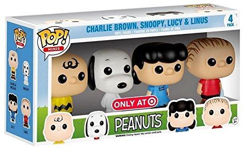 Funko Peanuts Target Exclusive Pop Minis]()