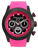 Mulco Men's NUIT MIA MW5-1962-058 Pink Silicon 46mm Swiss Movement, Watch Central