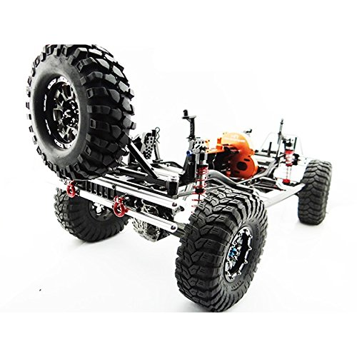 Hot Racing Scx03Tma01 Aluminum Rear Bumper Tire Carrier, for Axial SCX10 Jeep