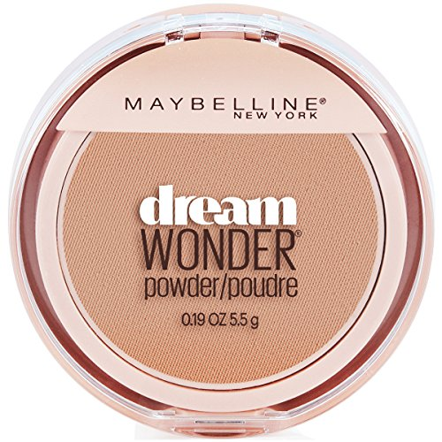 Maybelline New York Dream Wonder Powder Makeup, Natural Beige, 0.19 oz.