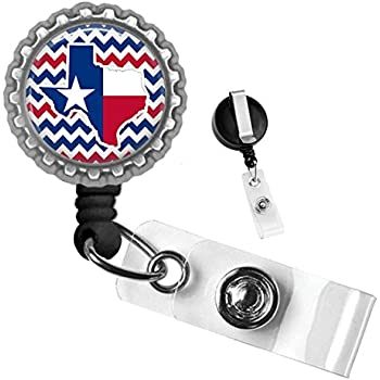 State of Texas HHSC Horizontal ID Badge Holder