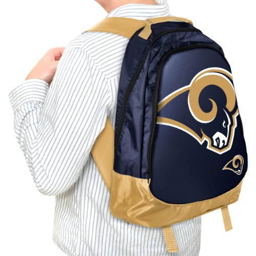 Forever Collectibles NFL St. Louis Rams Core Structed Backpack by Forever Collectibles