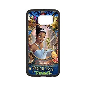 The Princess and the Frog Samsung Galaxy S6 Cell Phone Case White JN006400