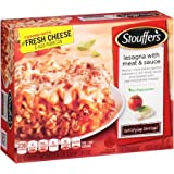 STOUFFERS LASAGNA WITH MEAT & SAUCE SATISFYING SERVINGS PASTA FROZEN FOOD 19 OZ PACK OF 3