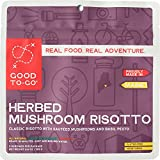 vegan dehydrated food - Good To-Go Herbed Mushroom Risotto (Double Serving)