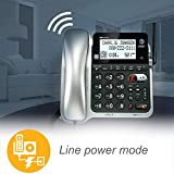 AT&T 2 Handset Corded/Cordless Answering System