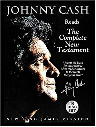 Johnny Cash Reads the Complete New Testament: New King James
