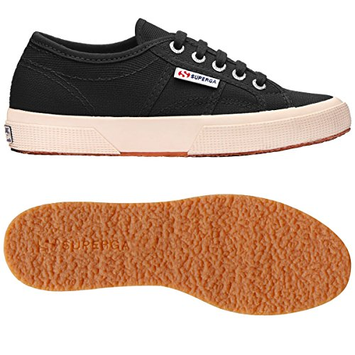 2750 Cotu black Superga Baskets Noir Mixte Adulte Classic S1xRdwqR