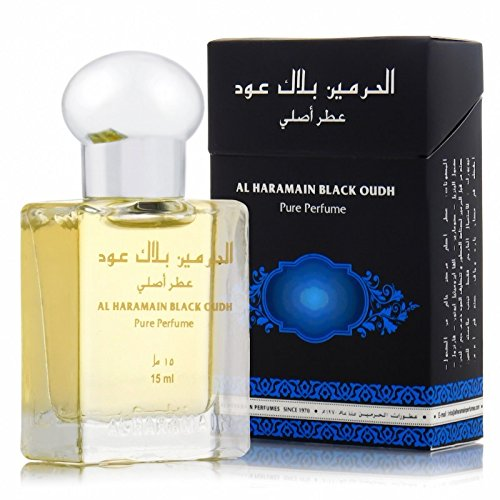 Black Oudh by al Haramain 12ml Oil Based Perfume