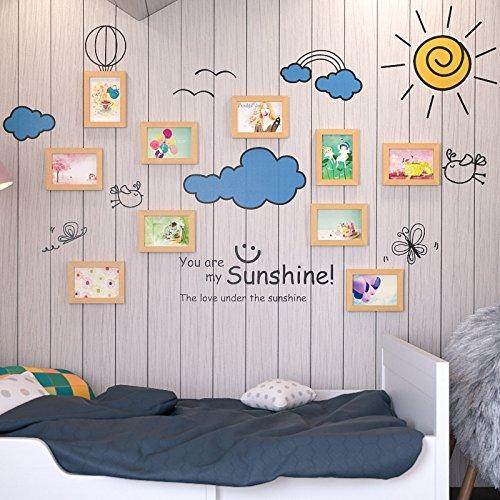 Unbekannt Bilderrahmen*10 Box cartoon bild wand Wand Dekorationen foto Box sofa Hintergrund Foto Aufkleber für Kinderzimmer