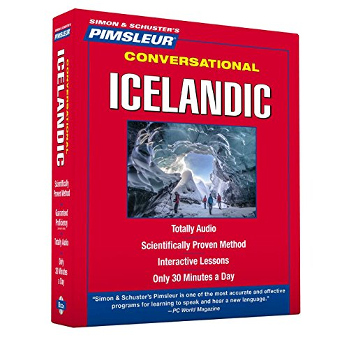 Pimsleur Icelandic Conversational Course | Level 1 Lessons 1-16 CD: Learn to Speak and Understand Icelandic with Pimsleur Language Programs
