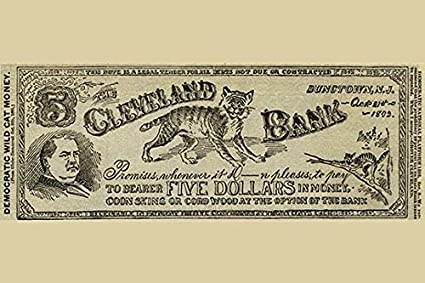Amazon Com Buyenlarge Cleveland Bank Paper Poster 20 By