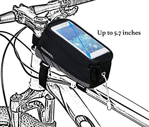 Roswheel 12496 Bike Frame Bag Bicycle Tube