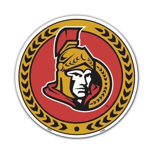 Fremont Die NHL Ottawa Senators Vinyl Magnet (12-Inch) ()