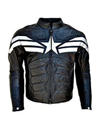 Men's Captain Real Leather Winter Soldier Jacket
