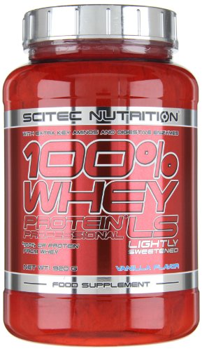 Scitec Nutrition Whey Protein Professional LS Vanille, 1er Pack (1 x 920 g)
