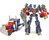Angel Impex Optimus Prime Robot Transformer Converts Robot Into Truck For Toy For Kids -(601_Red And Blue)