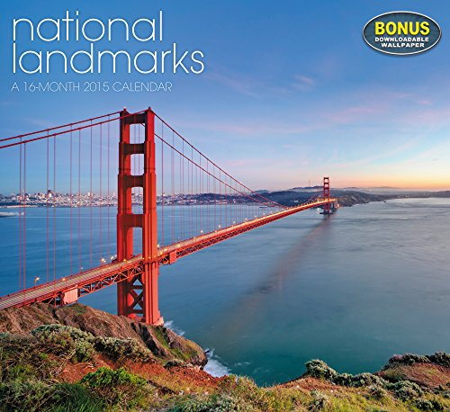 National Landmarks Wall Calendar (2015) (National 2015 Calendar Wall)