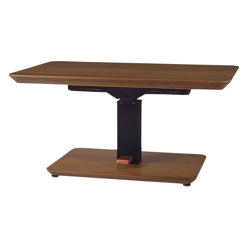 【4長方形中】120×80cm 高さ自由自在!昇降式ダイニングこたつテーブル 608815(サイズはありません ア:ダークブラウン) B07HSPX563 ア:ダークブラウン